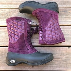 New NORTH FACE Thermoball Utility Mid Boot in Fig
